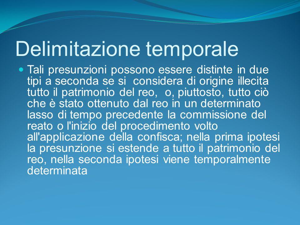 Delimitazione temporale