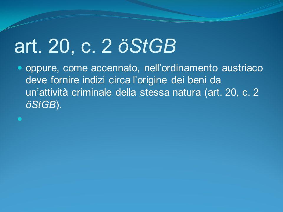 art. 20, c. 2 öStGB