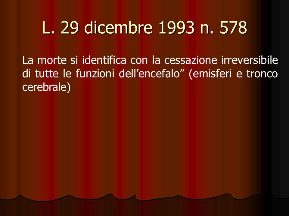 L. 29 dicembre 1993 n.