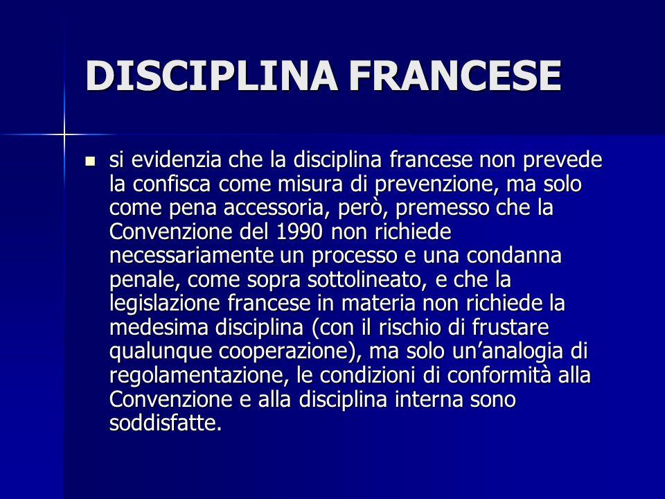 DISCIPLINA FRANCESE