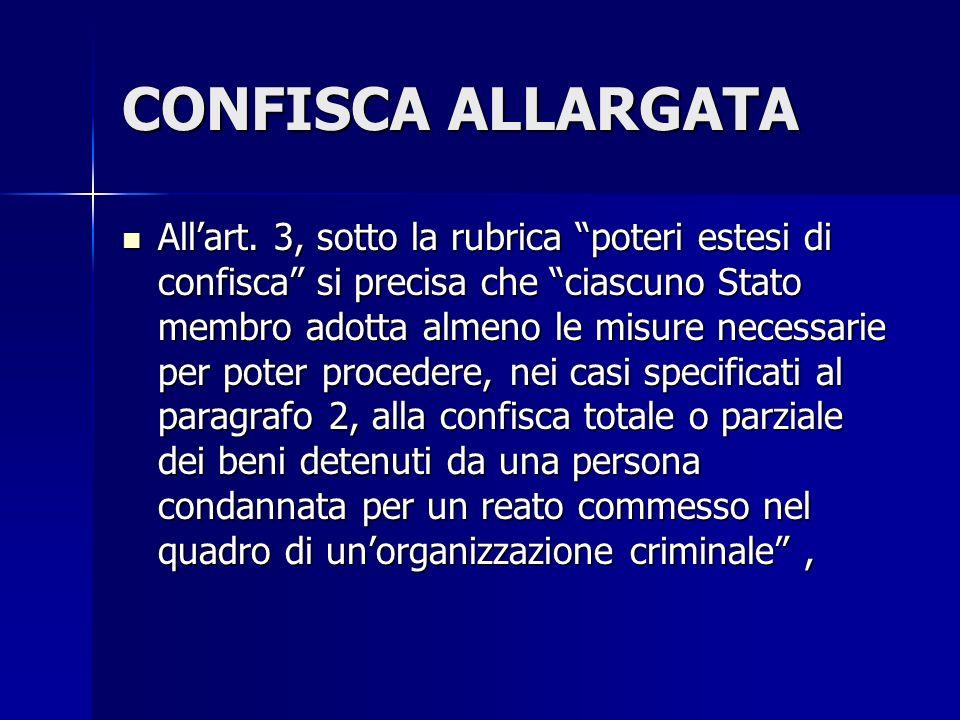 CONFISCA ALLARGATA