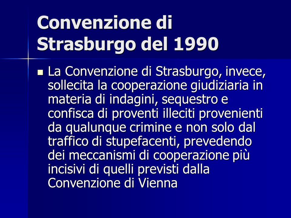 Convenzione di Strasburgo del 1990