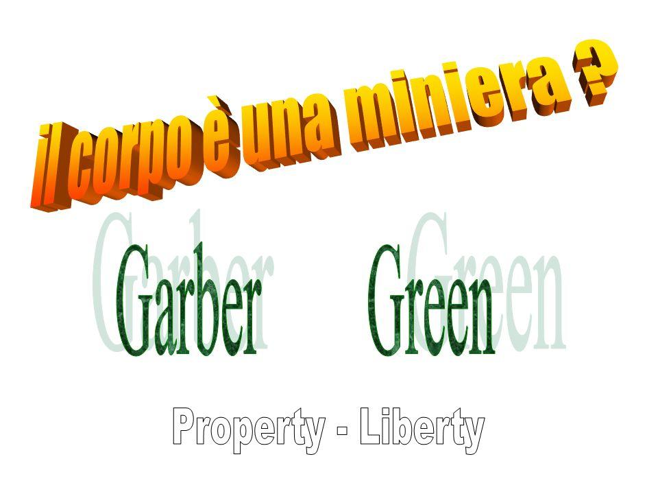 il corpo è una miniera Garber Green Property - Liberty