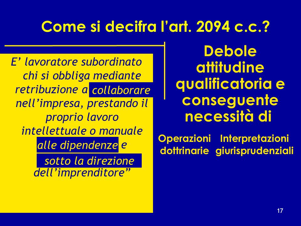 Come si decifra l'art c.c.