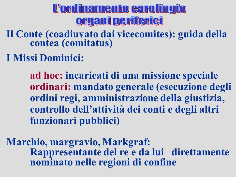 L ordinamento carolingio