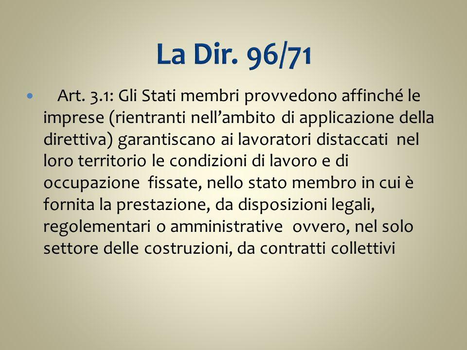 La Dir. 96/71