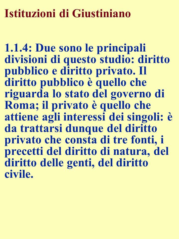 Istituzioni di Giustiniano 1. 1