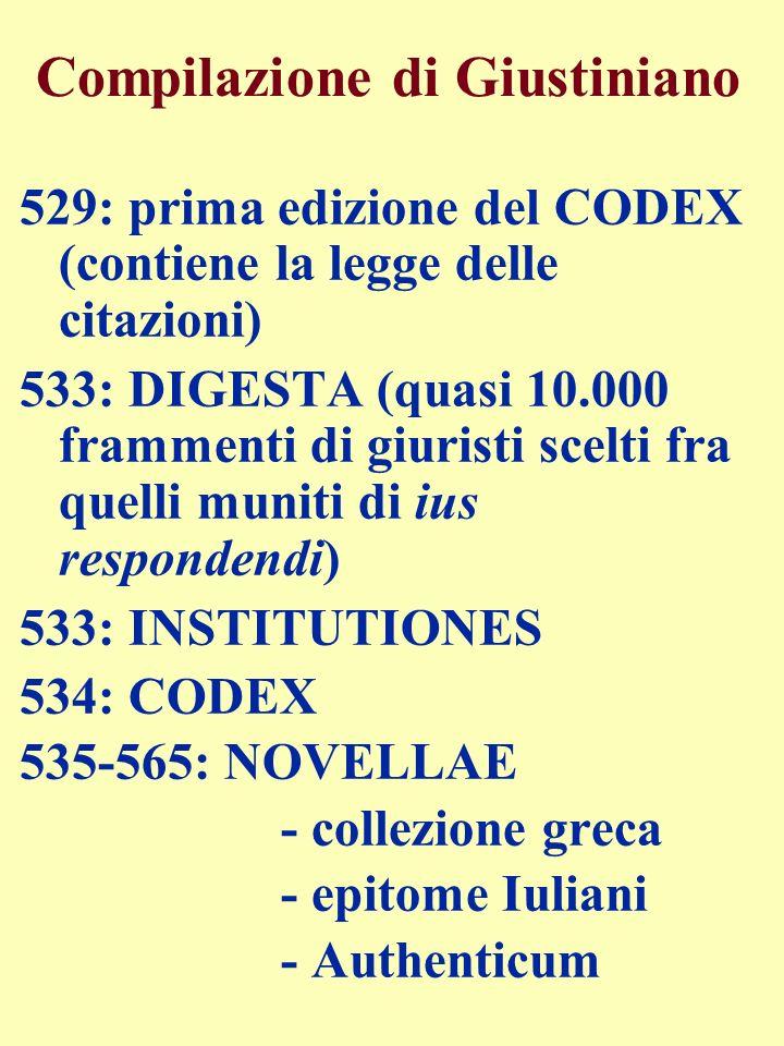 Compilazione di Giustiniano