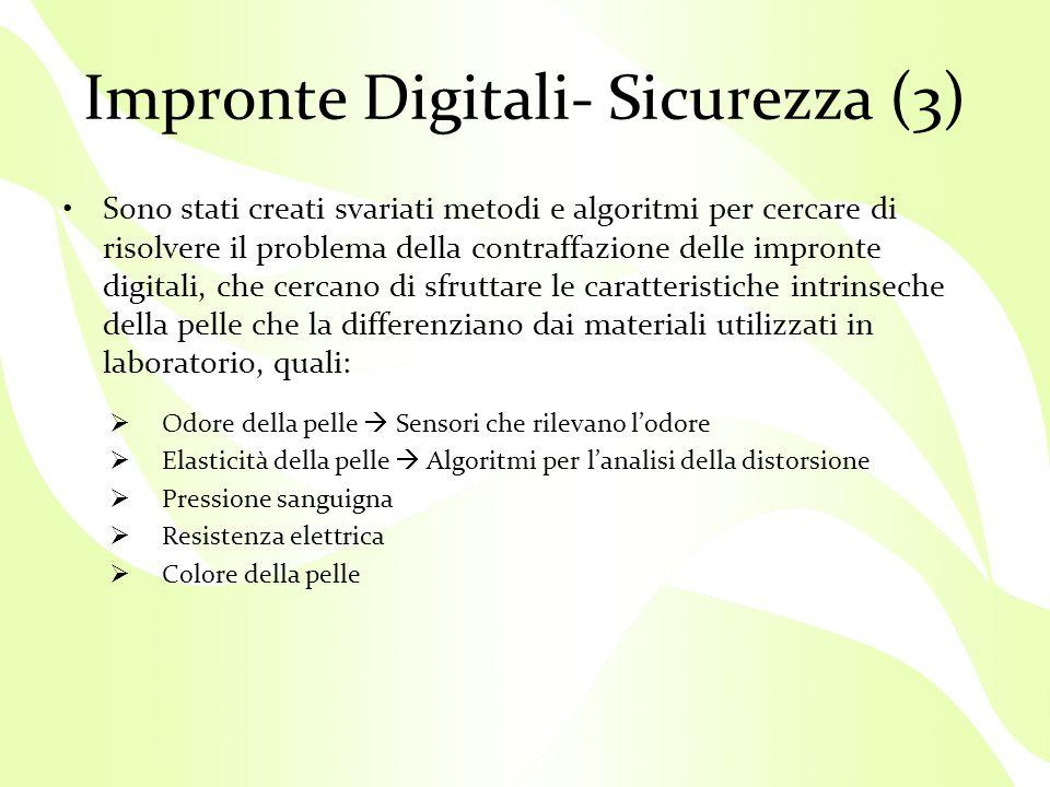 Impronte Digitali- Sicurezza (3)