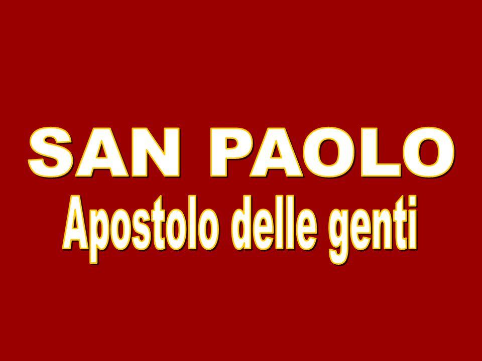 SAN PAOLO Apostolo delle genti