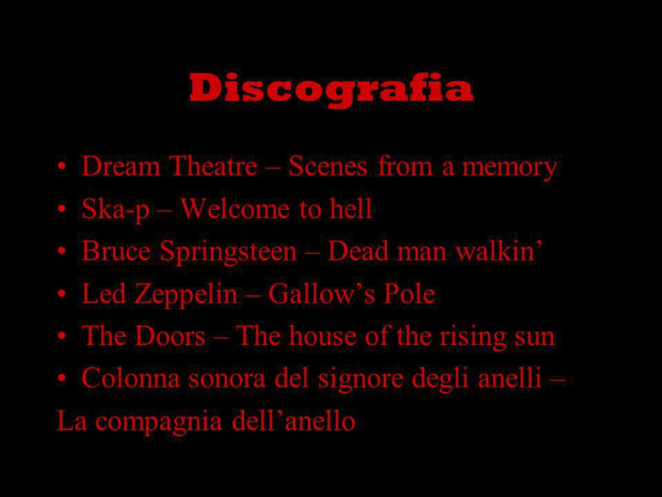 Discografia Dream Theatre – Scenes from a memory