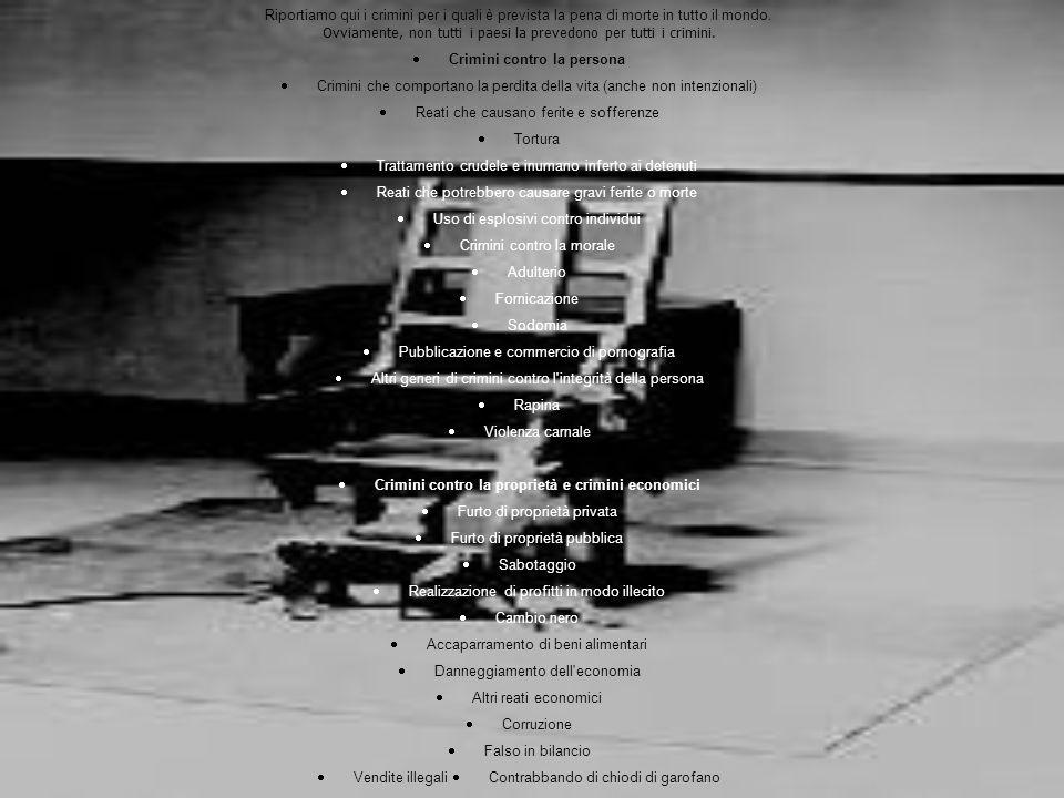 · Crimini contro la persona