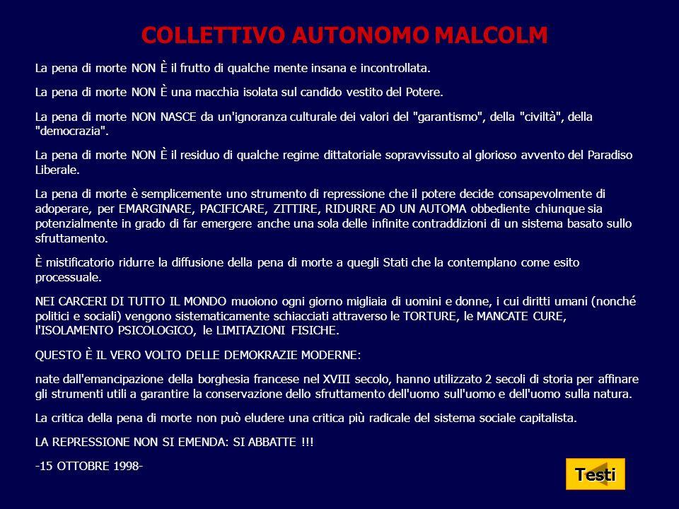 COLLETTIVO AUTONOMO MALCOLM