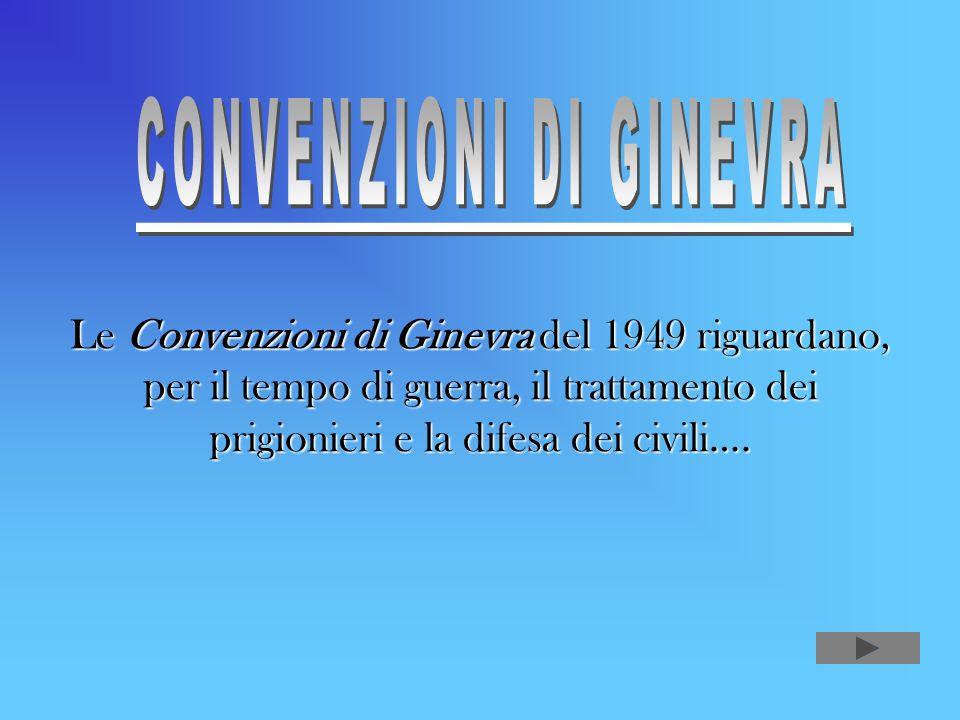 CONVENZIONI DI GINEVRA