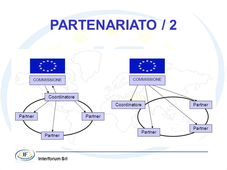 PARTENARIATO / 2 COMMISSIONE Coordinatore Partner