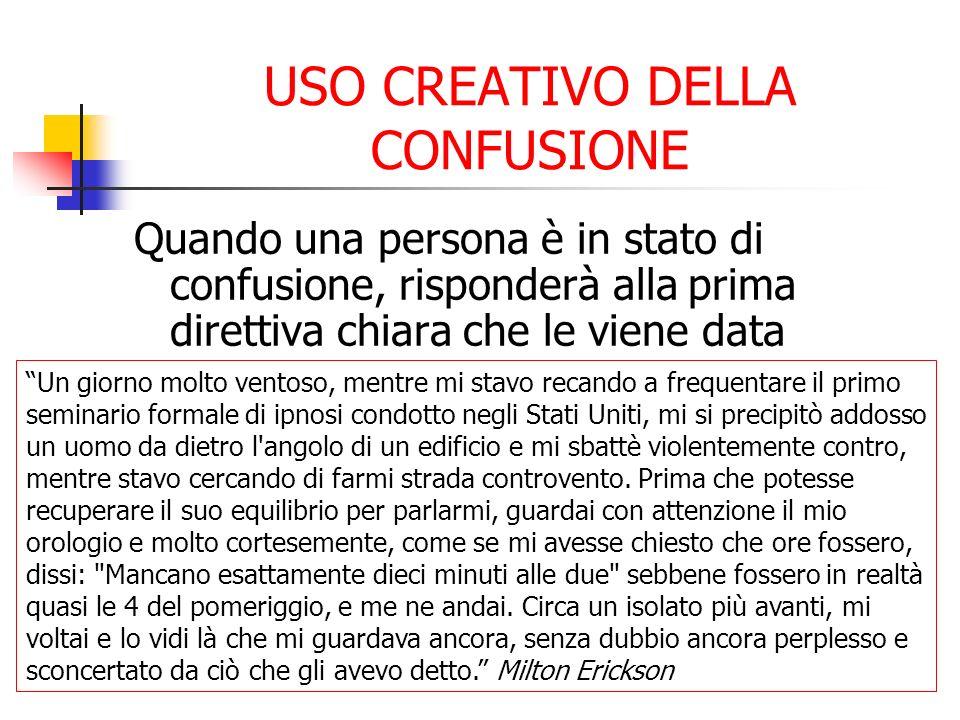 USO CREATIVO DELLA CONFUSIONE