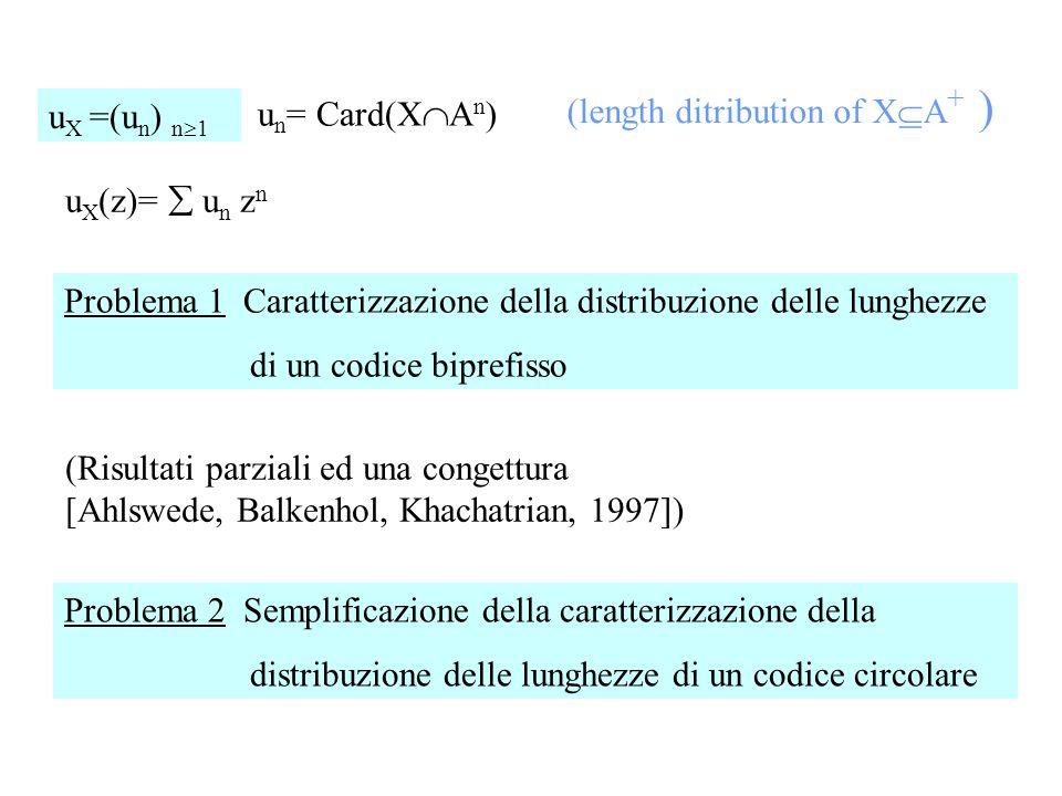 (length ditribution of XA+ )