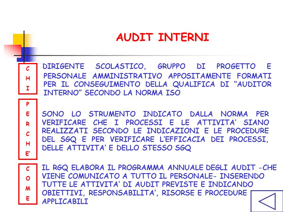 AUDIT INTERNI