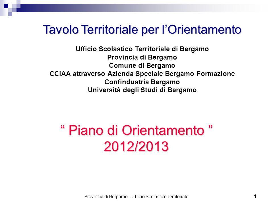 Piano di Orientamento 2012/2013