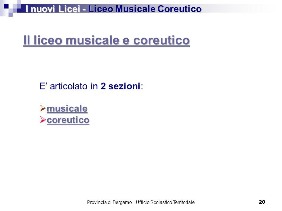 Provincia di Bergamo - Ufficio Scolastico Territoriale
