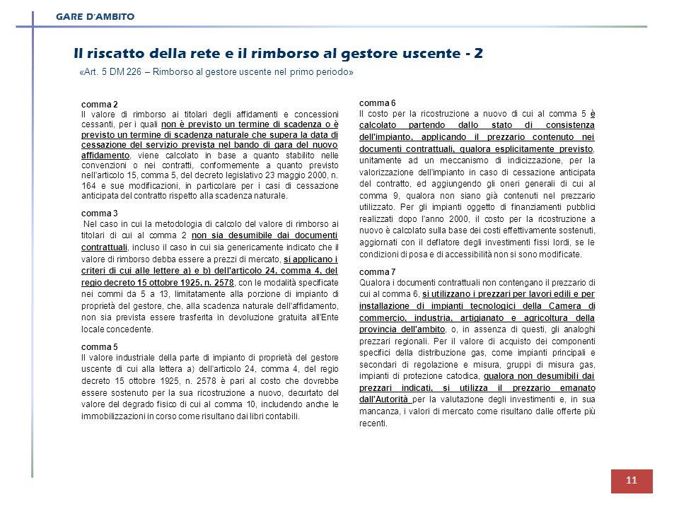 La distribuzione del gas naturale nel nuovo assetto normativo ppt scaricare - Prezzario camera di commercio ...