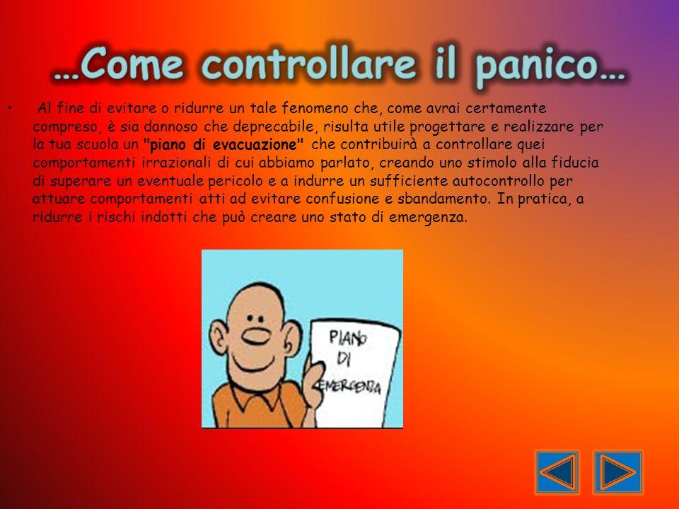 …Come controllare il panico…