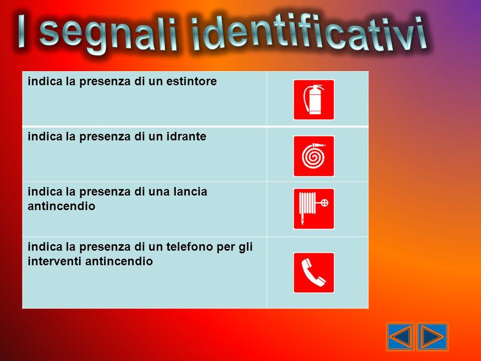 I segnali identificativi