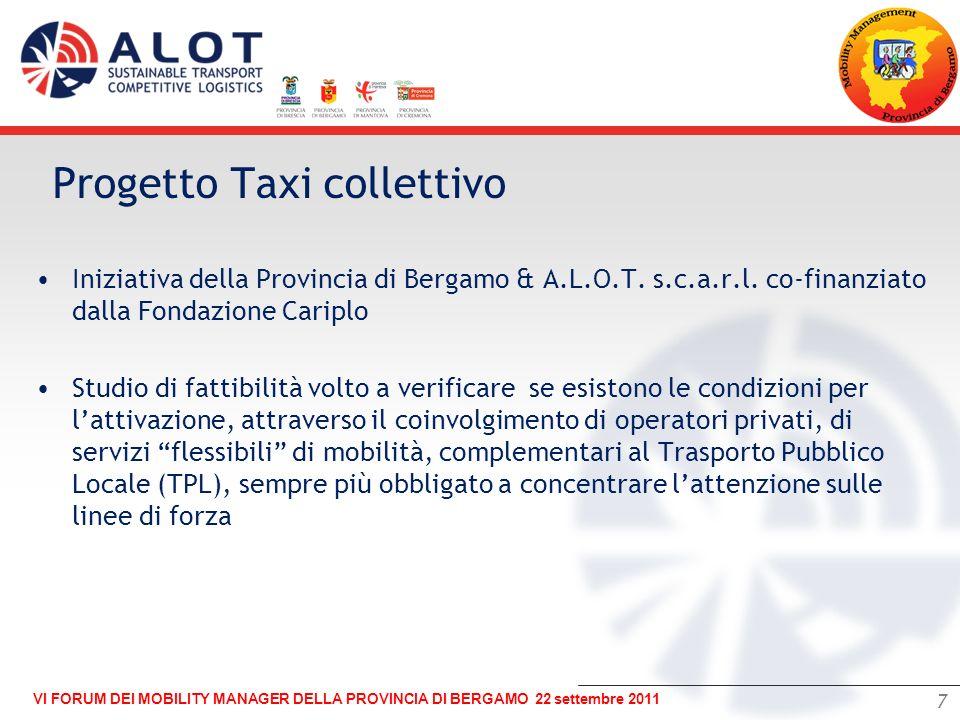 Progetto Taxi collettivo