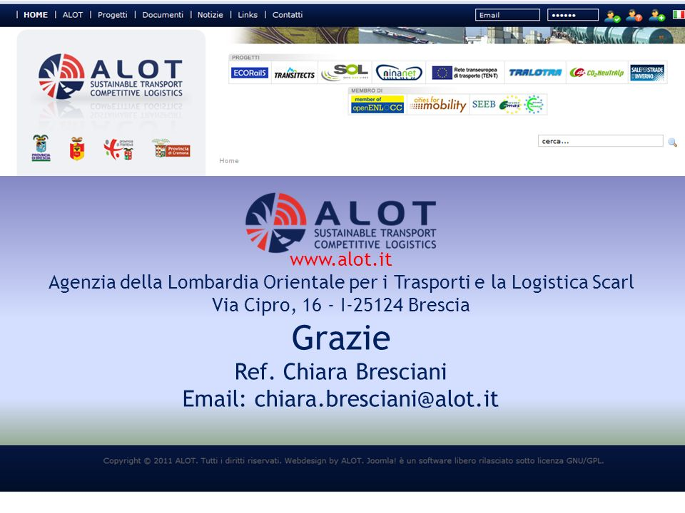 Email: chiara.bresciani@alot.it