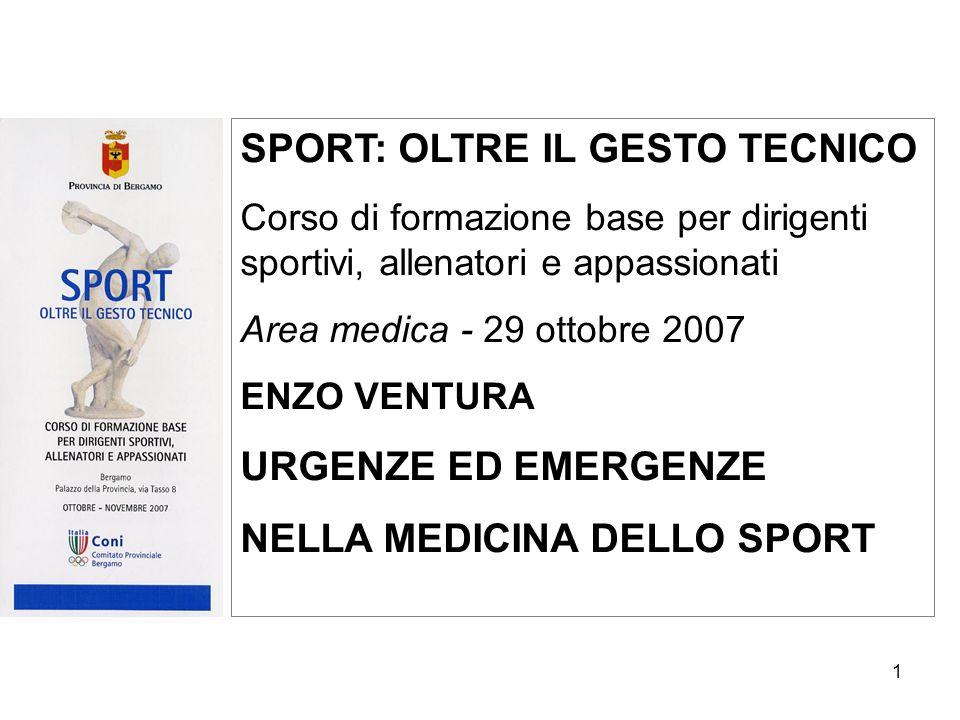 SPORT: OLTRE IL GESTO TECNICO