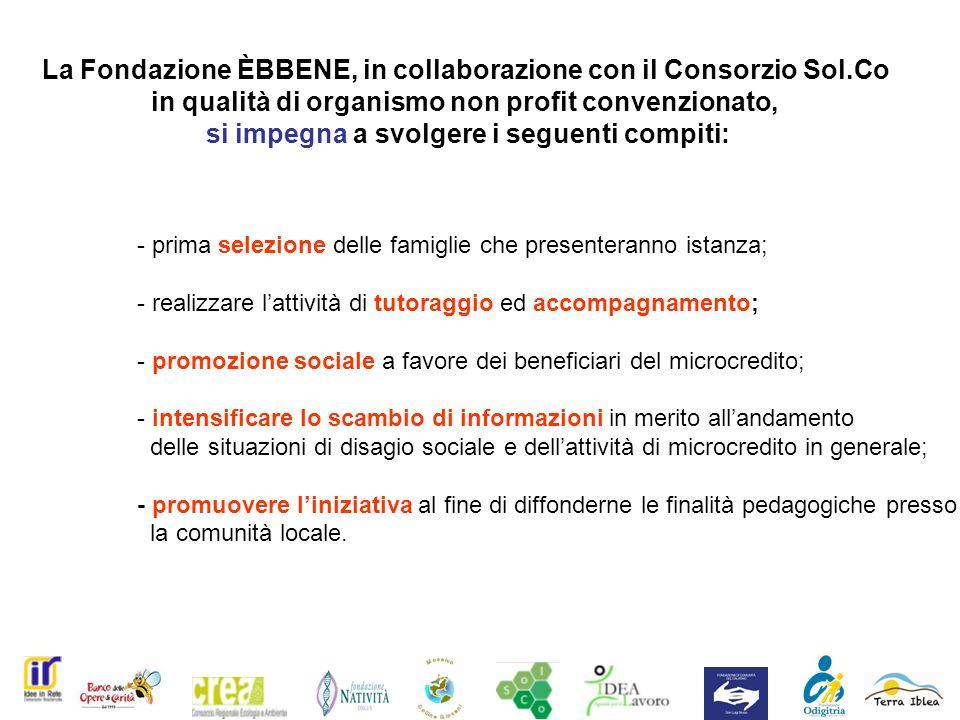 La Fondazione ÈBBENE, in collaborazione con il Consorzio Sol.Co