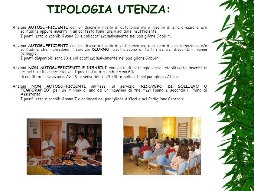 TIPOLOGIA UTENZA:
