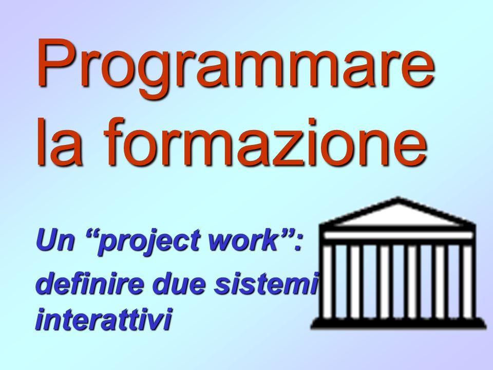 Programmare la formazione