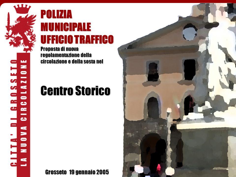 Centro Storico POLIZIA MUNICIPALE UFFICIO TRAFFICO
