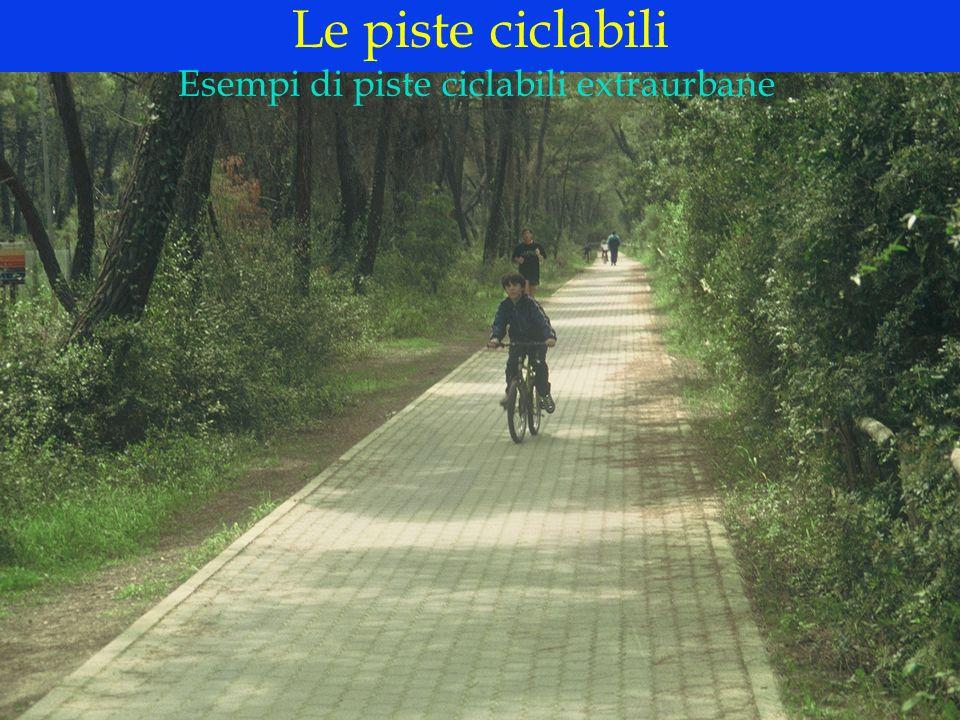 Esempi di piste ciclabili extraurbane
