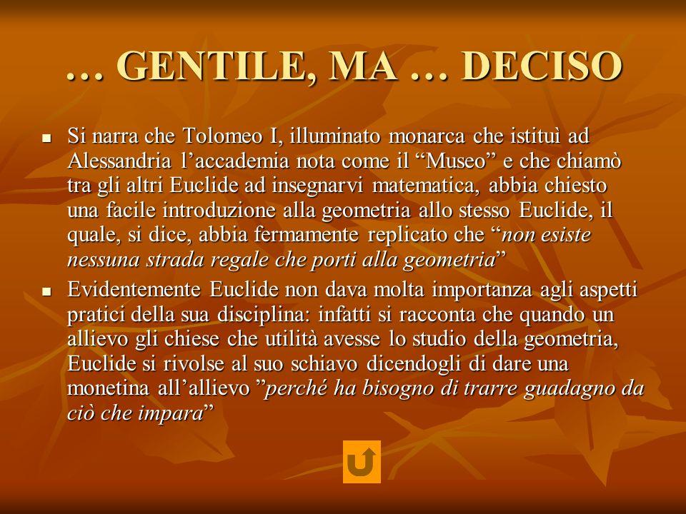 … GENTILE, MA … DECISO