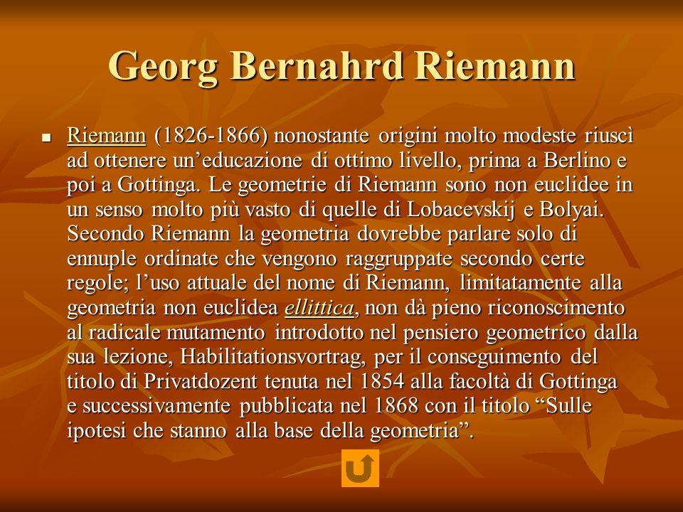 Georg Bernahrd Riemann
