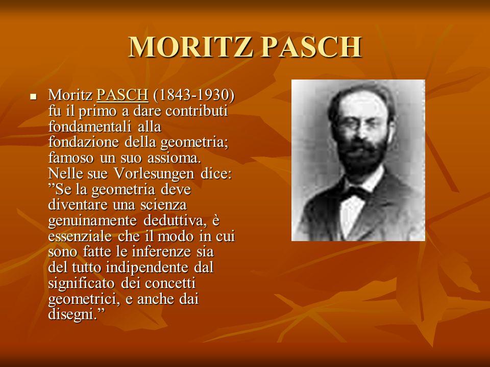 MORITZ PASCH