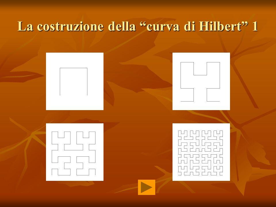 La costruzione della curva di Hilbert 1