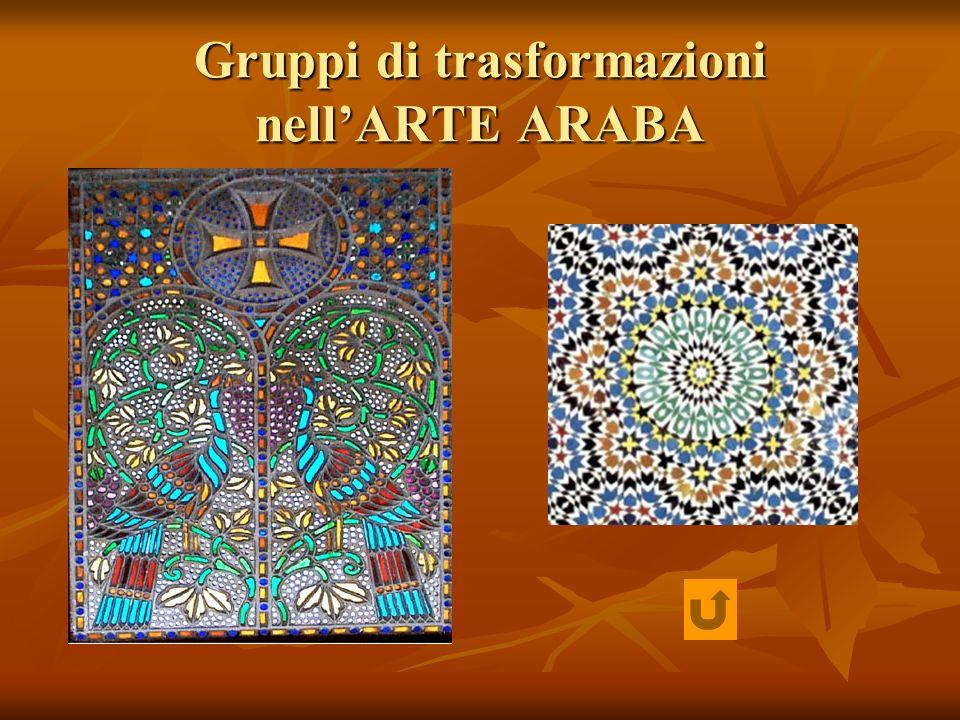 Gruppi di trasformazioni nell'ARTE ARABA