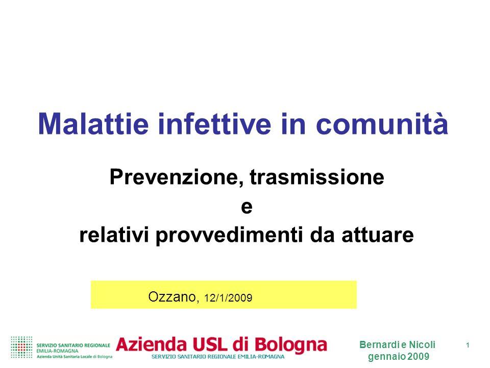 Malattie infettive in comunità