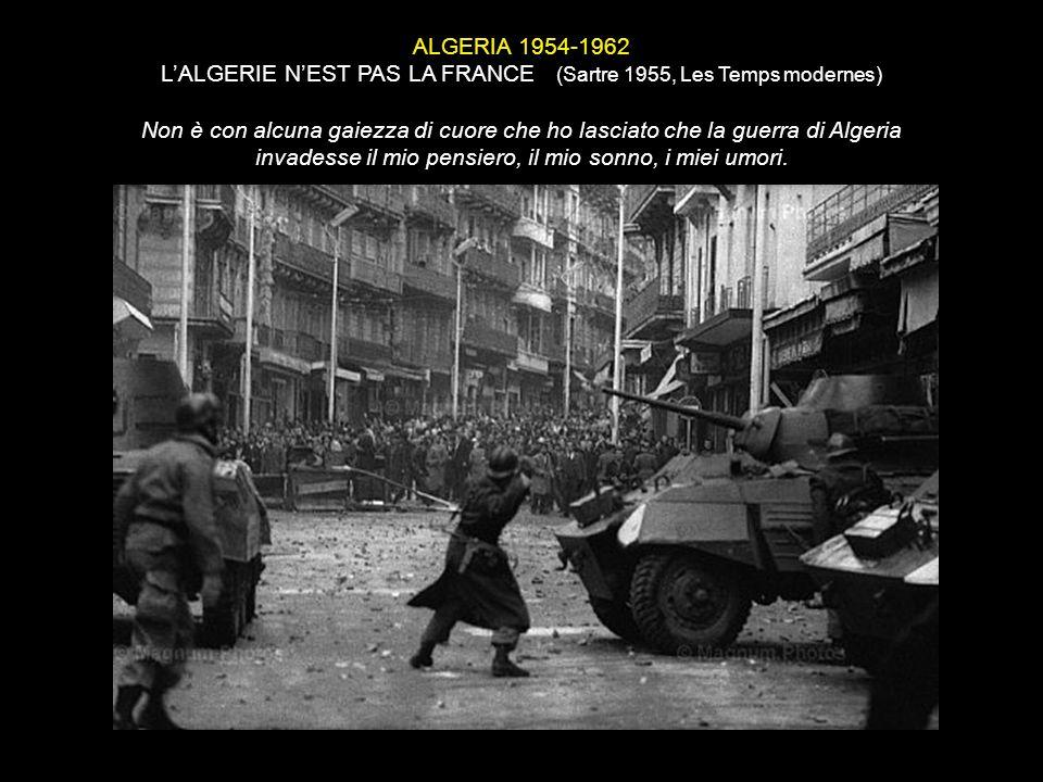 L'ALGERIE N'EST PAS LA FRANCE (Sartre 1955, Les Temps modernes)