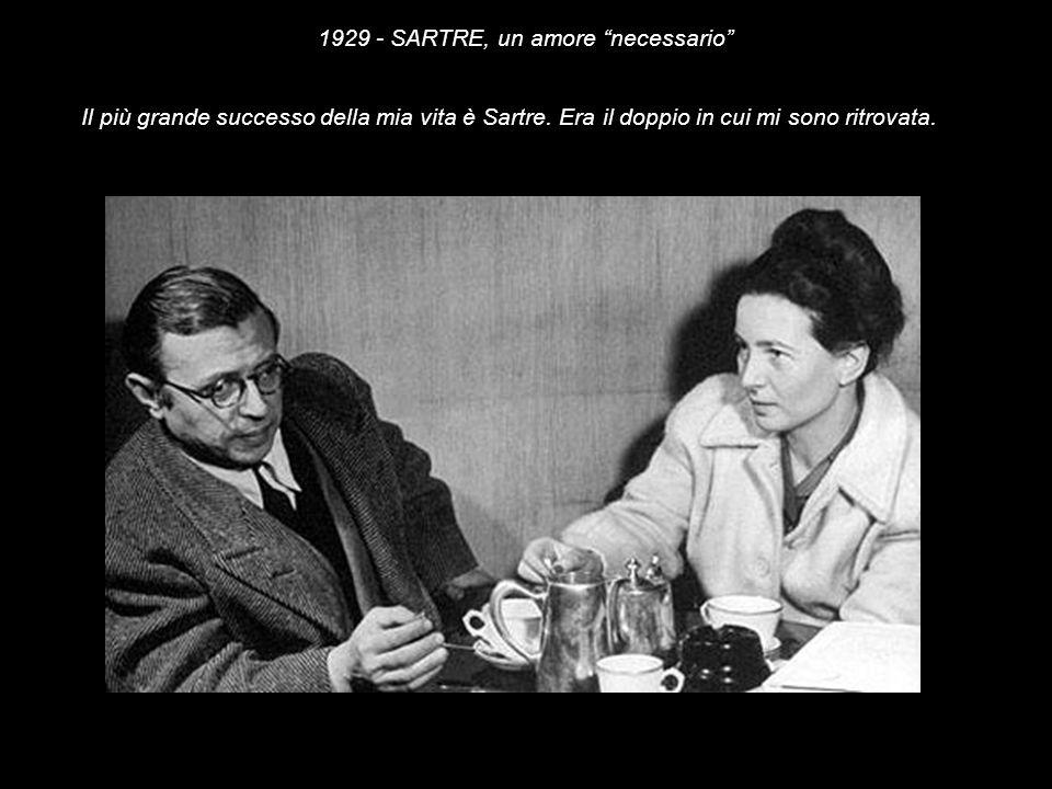 1929 - SARTRE, un amore necessario