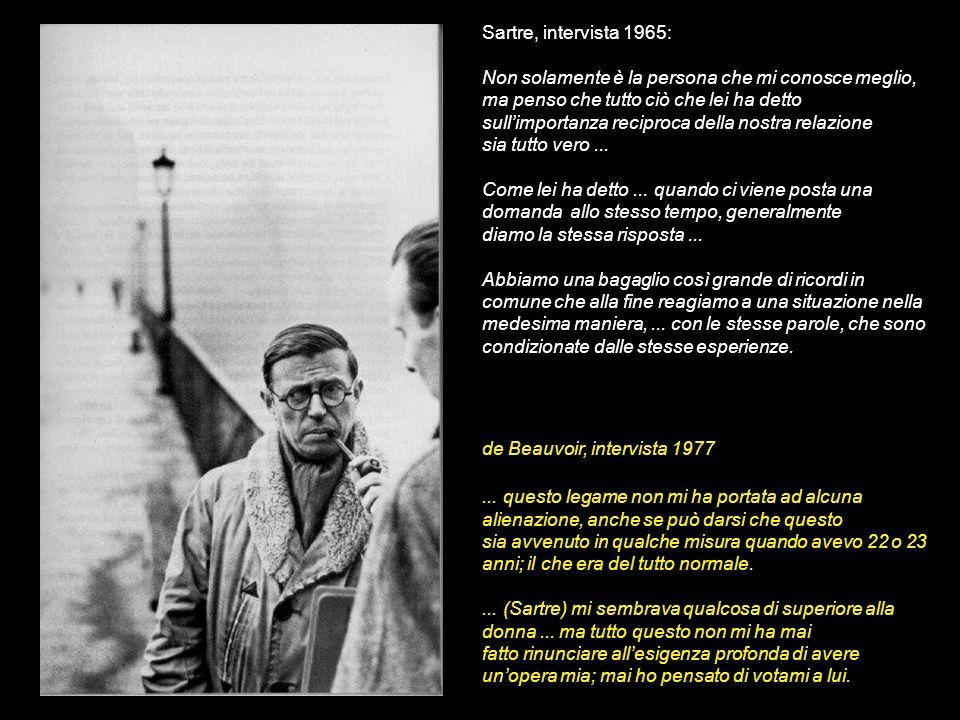 Sartre, intervista 1965: