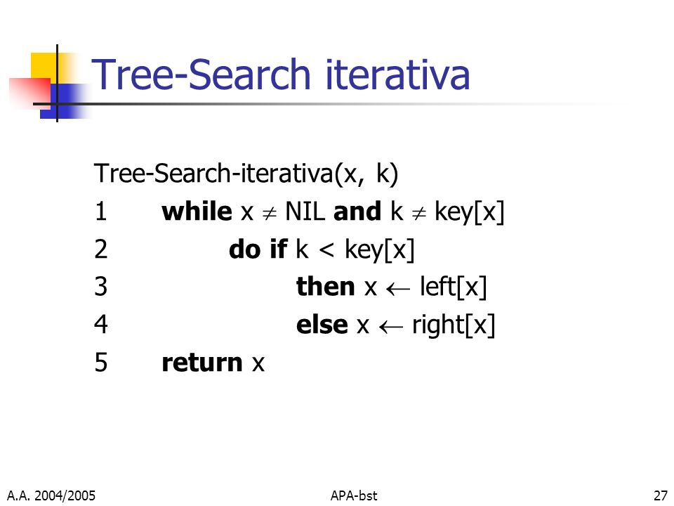 Tree-Search iterativa