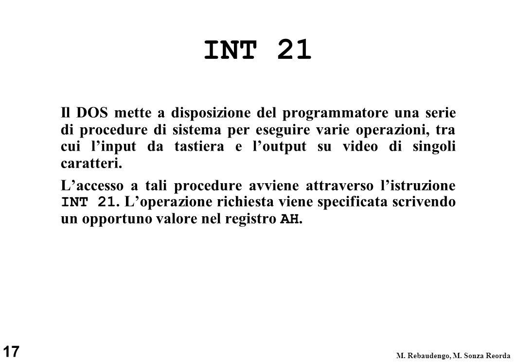 INT 21