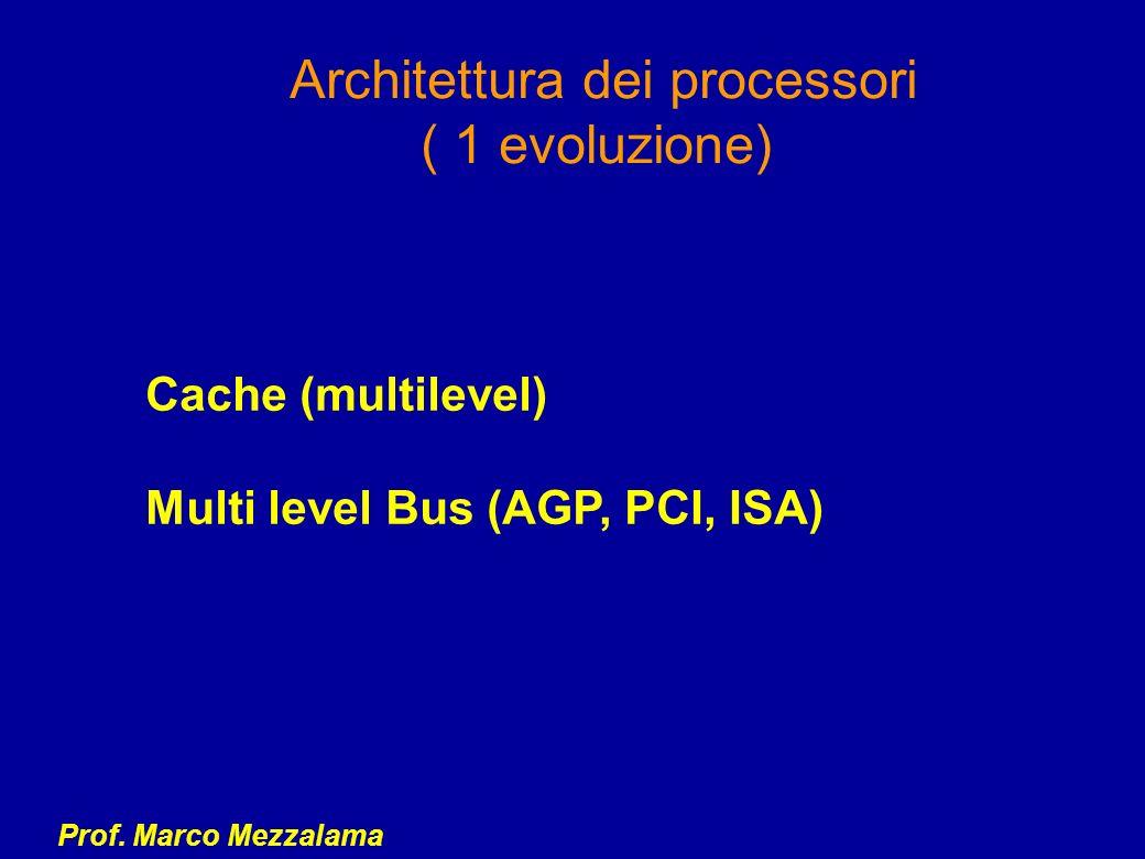 Architettura dei processori ( 1 evoluzione)