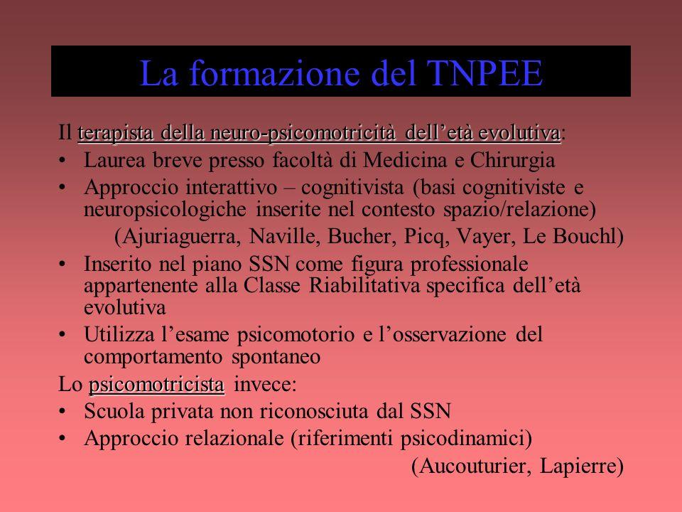 La formazione del TNPEE