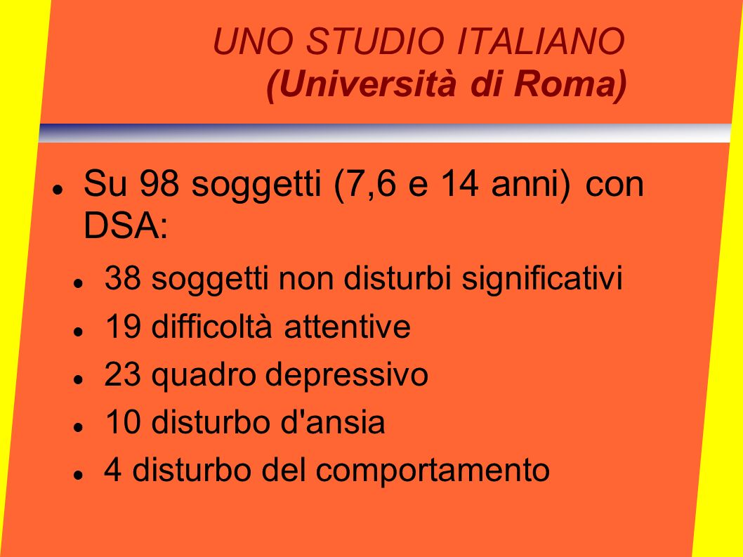 UNO STUDIO ITALIANO (Università di Roma)