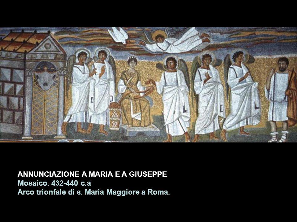 ANNUNCIAZIONE A MARIA E A GIUSEPPE